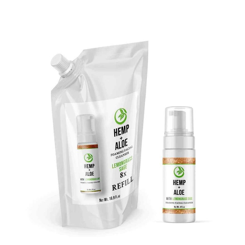 Oily Skin Cleanser Reusable Bottle Set