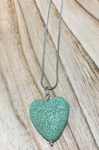 Lava Heart Necklace