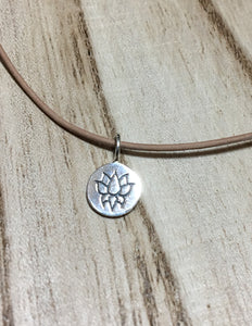 Little Lotus Necklace