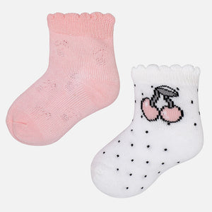 Cotton Socks 2 Pair Pack