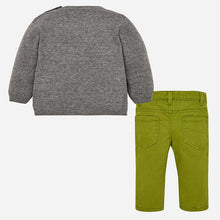 Boys Knitted Detailed Jumper and Jeans Set