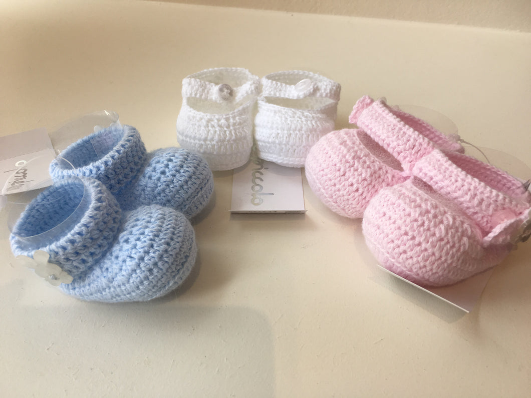 Knitted Bootees