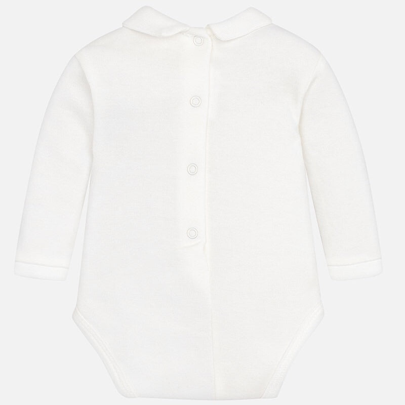 Baby Boys Long Sleeved Polo Collar Body