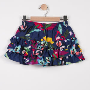 Girls Skirt Pelican Tropical Print