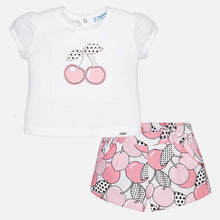 Cherry Shorts & T-Shirt Set