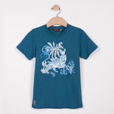 Short Sleeved Printed T Shirt
