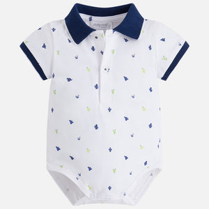 Boys Printed Body Polo