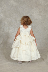 Baby Girls Christening Dress and Bonnet