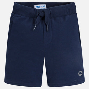Boys Lightweight Fleece Navy Shorts