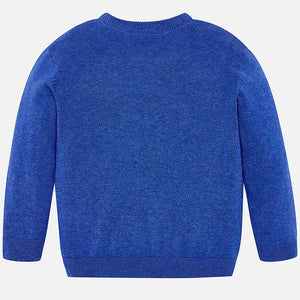 Boys Long Sleeved Soft Fine Knit Jumper