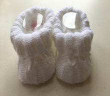 Baby Boys Knitted Bootees (gift boxed)
