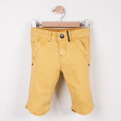 Boys Bermudas Shorts Plain Mustard
