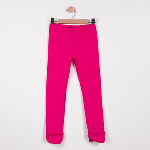 Girls Leggings Plain Pink