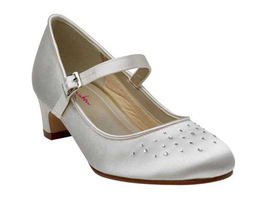 Girls Satin Shoes