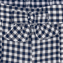 Girls Gingham Shorts with Bow Detail