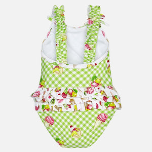 Girls Ice Cream Swim Suit