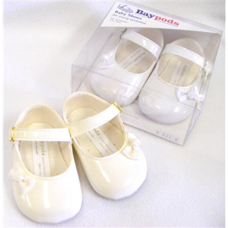 Baby Girls Patent Bow Shoes