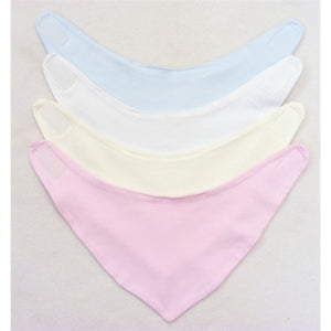 Baby Velcro Cotton Interlock Bandana Bib