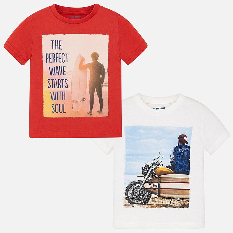 Boys Printed T-Shirts (pack of 2)