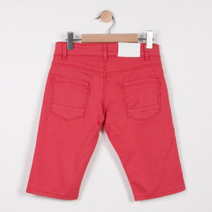 Boys Bermudas Shorts Plain Red / Rouge