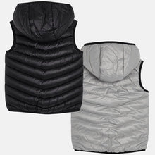 Boys Reversable Padded Gillet with Mayoral Detailed Logo