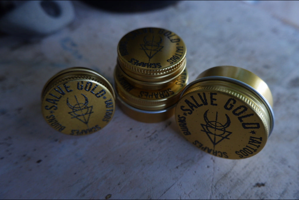 Healing Salve for Tattoos, burns, scrapes+