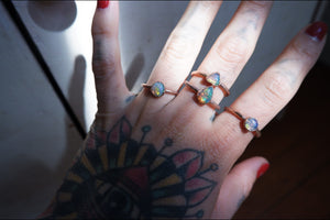 High Fire Opal Ring