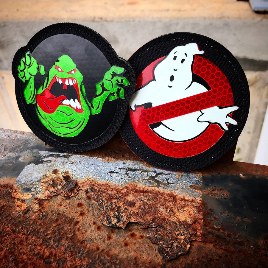Ghostbusters Ultra Limited Edition Set. Laser Cut Patch PatchPanel