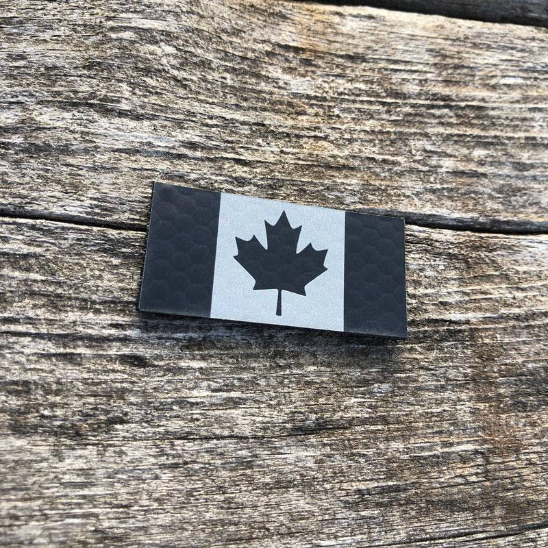 Micro Pro IR Canada Flag IR Patches PatchPanel