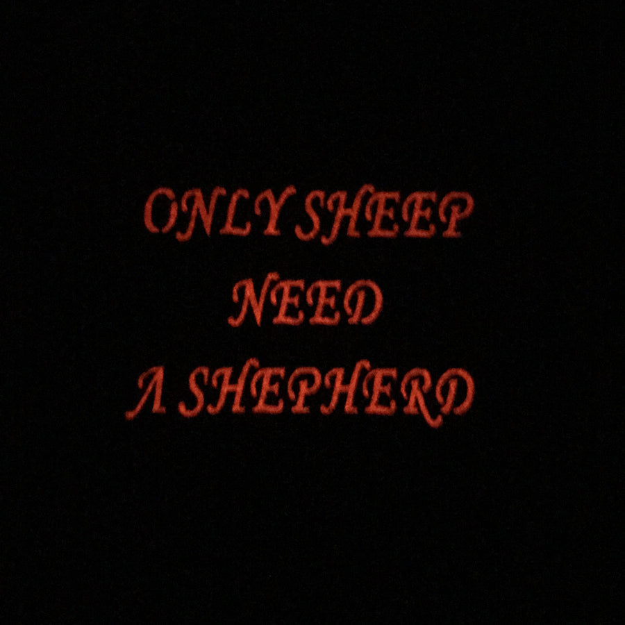 Only Sheep Need A Shepherd Laser Cut Patch PatchPanel