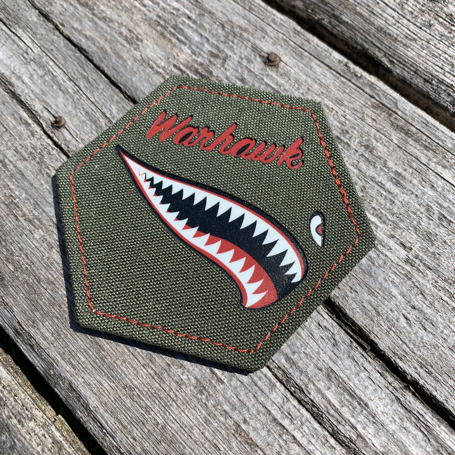 P40 Warhawk Limited Edition Laser Cut Patch Laser Cut Patch PatchPanel