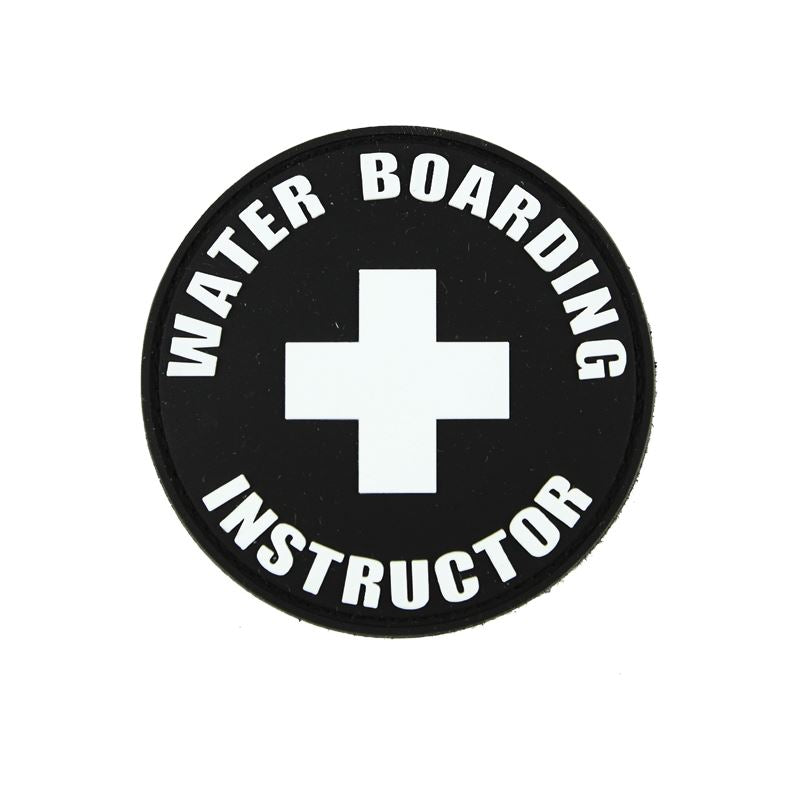 Waterboarding Instructor PVC Patch PatchPro
