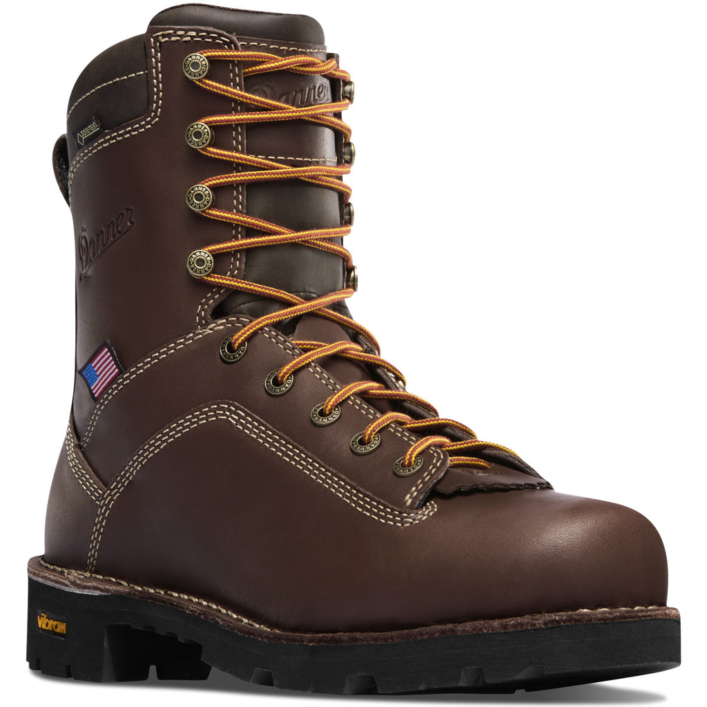 "Danner 17305 Quarry USA 8"" Brown"