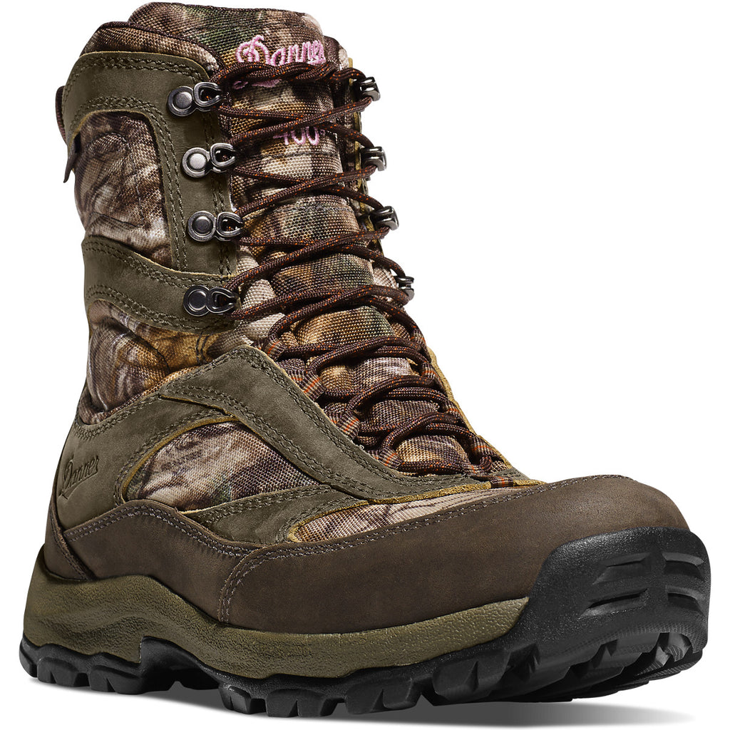 "Danner 46230 Women's High Ground 8"" Realtree Xtra 1000G"