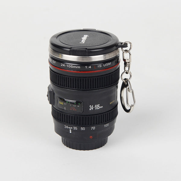 The lens stainless steel coffee mug