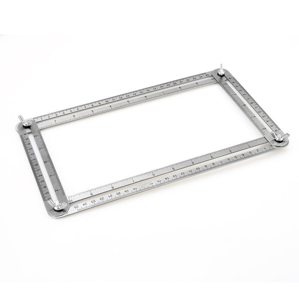 Stainless Steel Template Tool for Handymen or Builders