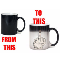 Sneaky Middle Finger Mug 300ml