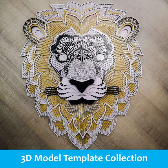 3D Model Template Collection