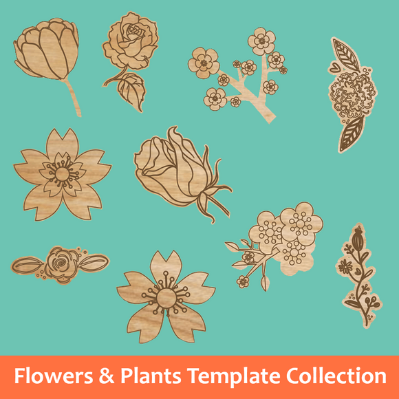 Flowers & Plants Template Collection
