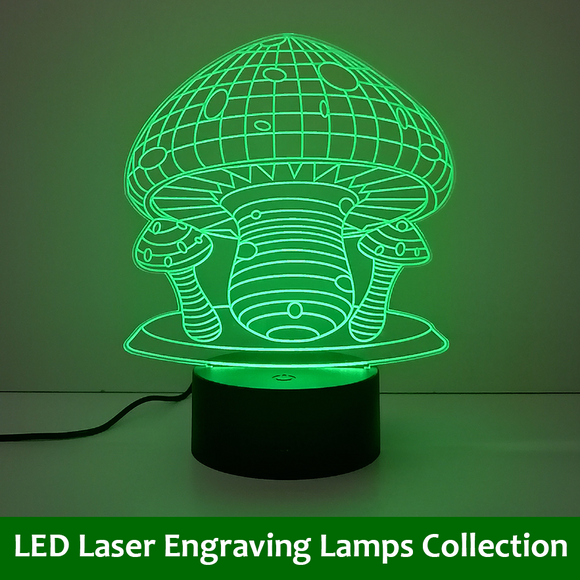 LED Laser Engraving Lamps Collection