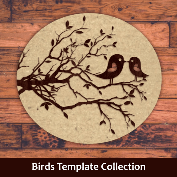 Birds Template Collection