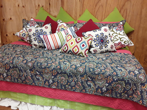 Blue India Bedding Collection