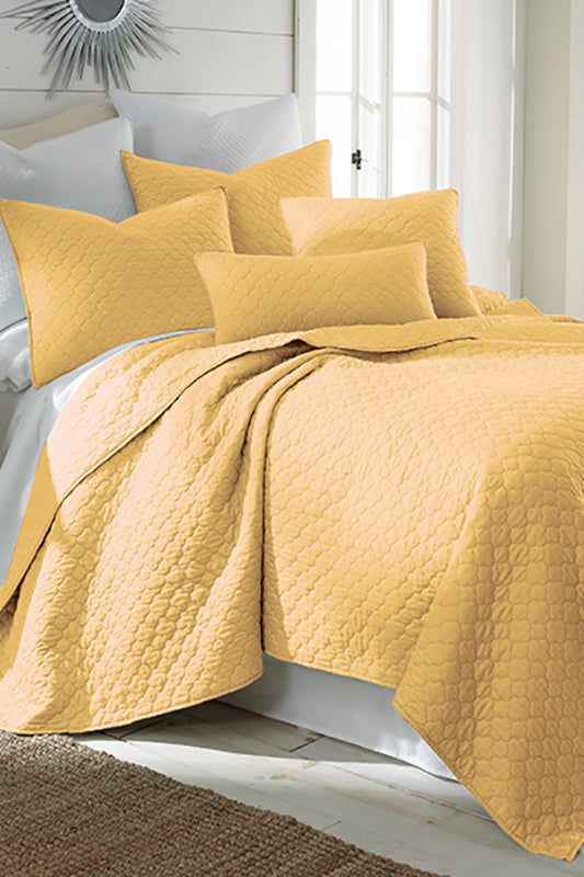 Solid Yellow Color Bedding Set