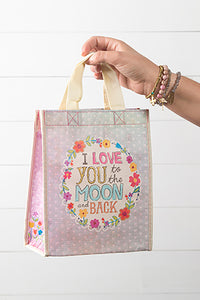 Love You To The Moon Recycled Gift Bag