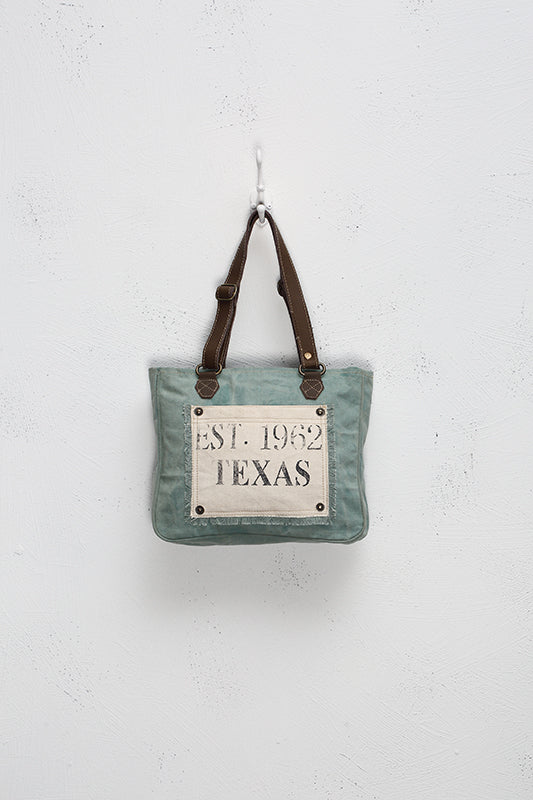 Turquoise Texas Small Purse