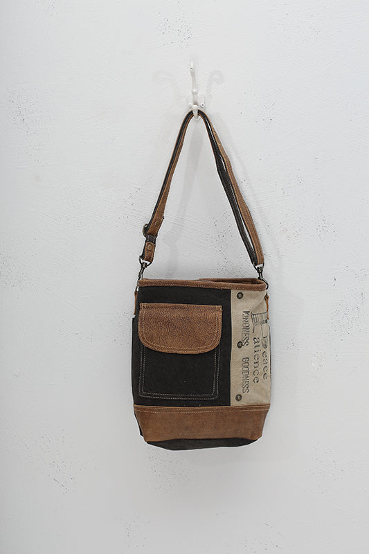Peace Pocket Shoulder Purse