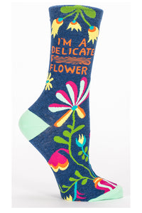 I'm a Delicate Flower Women's Socks