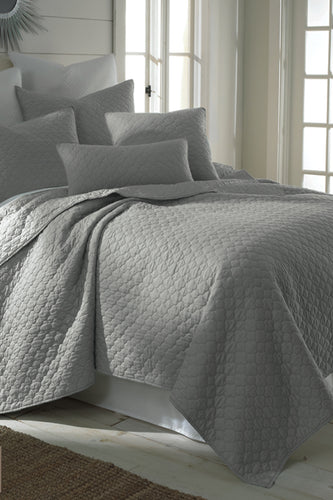 Solid Grey Color Bedding Set