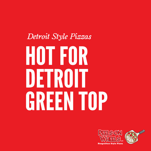 Hot For Detroit Green Top