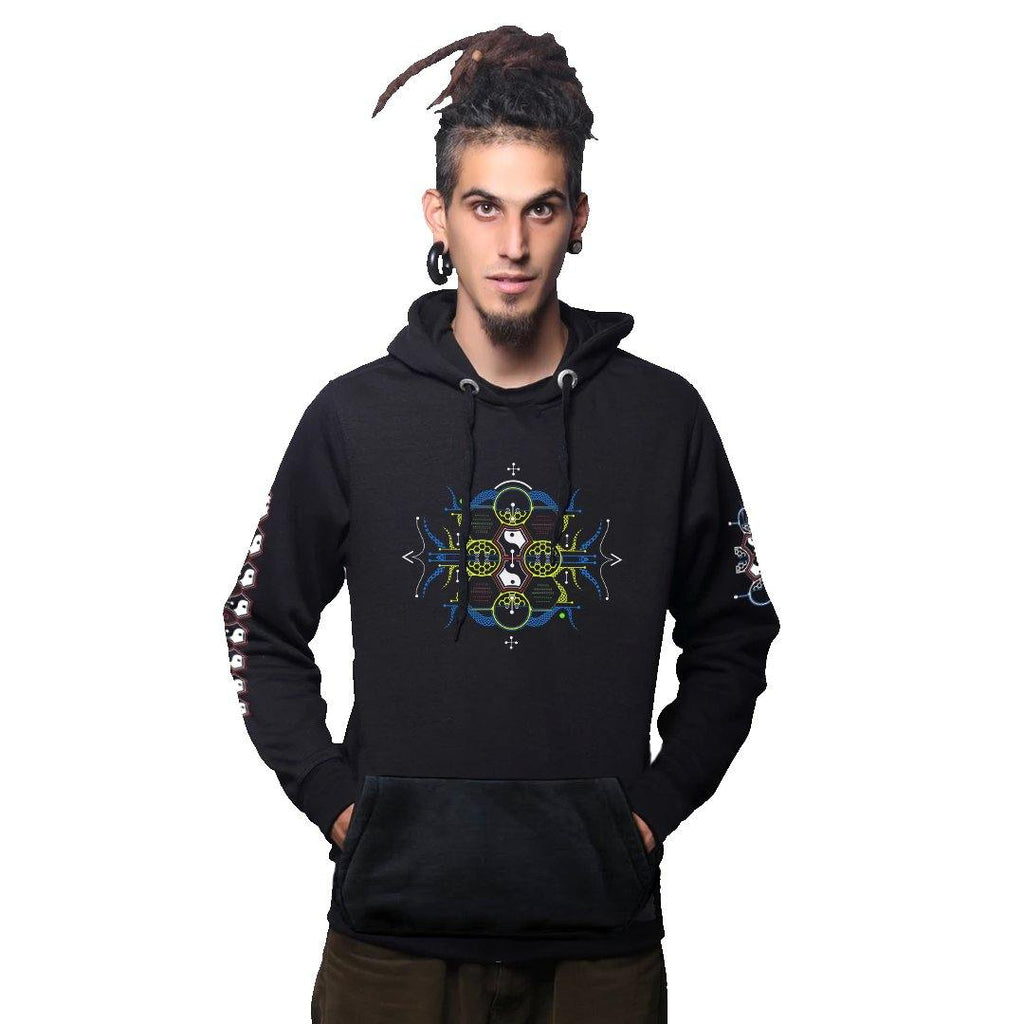 Damaru Cotton Hoodie UV Plus Glow In Dark (6049808318648)